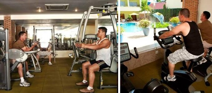 Cambodian Resort Gym