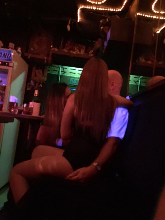 Bar girl blow job are
