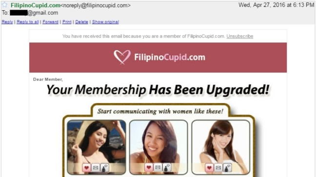 philippines dating site membership