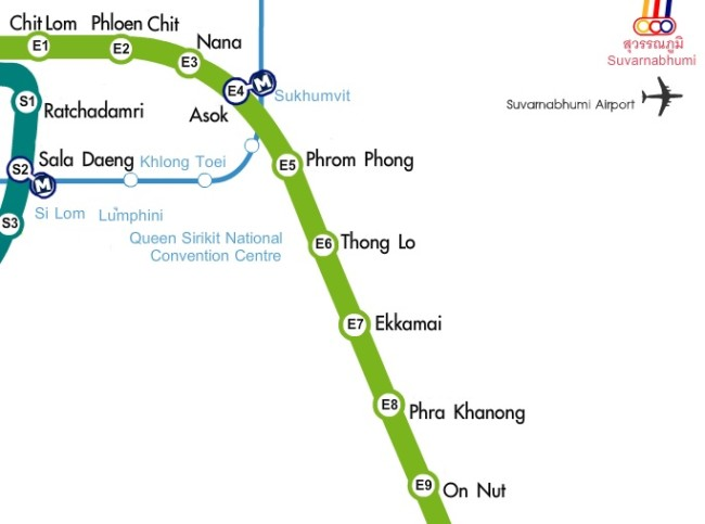 bts-map-central-bangkok-sukhumvit-line