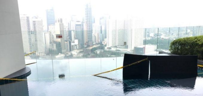 Swimming pool construction gramercy condo nomad - Swimming pool builders philippines ...